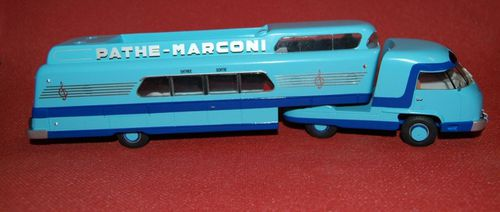 Miniature Tour de France Panhard Pathe Marconi