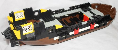 LEGO Pirate 6285 Black Seas Barracuda 10