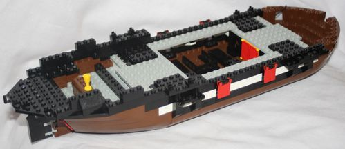 LEGO Pirate 6285 Black Seas Barracuda 09