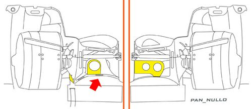 Toyota ts040 FDuct LOW