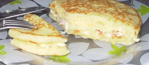 Blinis-croque bacon & raclette5