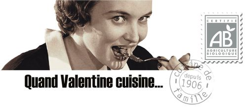 quand valentine cuisine