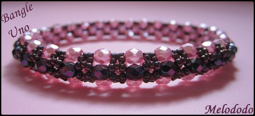 Bangle Uno Rose Pearl