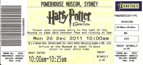 2011-12-26 Sydney - (2) Harry Potter