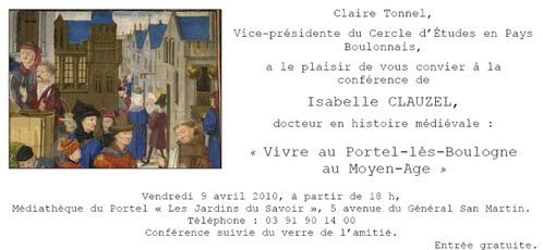 invitation le portel 2010