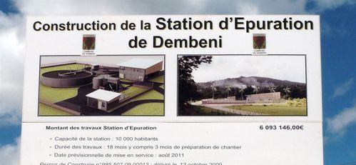 pancarte station épuration