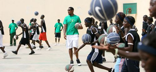 Camps de basket credit photo Babacards