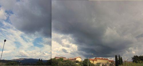 Ciel orageux 14 10 2011