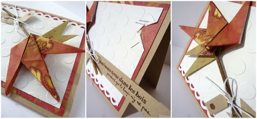 carte origami'