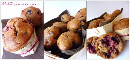 Muffins cerises