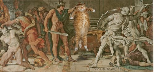 Annibale Carracci and Domenichino - Perseus and Phineas 02