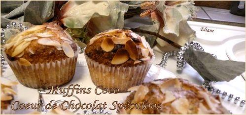 muffins coco coeur chocolat1