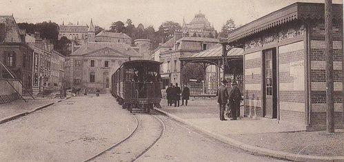 mésirard tramway gare place de la bonde