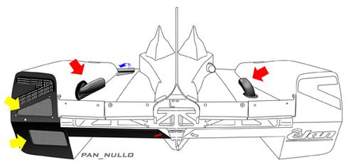 DeltaWing Rear ALow