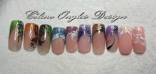 nail art uv gel