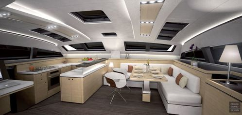 privil ge marine annonce le privil ge s rie 5 son nouveau catamaran de luxe. Black Bedroom Furniture Sets. Home Design Ideas
