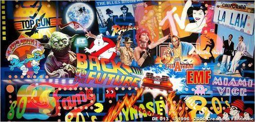 Célèbre Soirée années 80 avec Génération Souvenirs ! - Blog - Génération  IA43