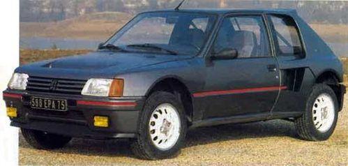 205 Turbo 16 4x4 2