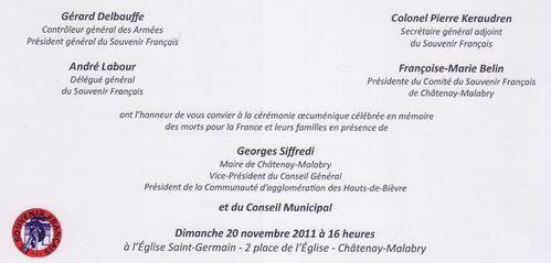 Chatenay-Malabry 20.11.2011