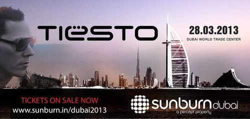 Tiësto date: Dubai World Trade Centre - Dubai / UAE 28 march 2013