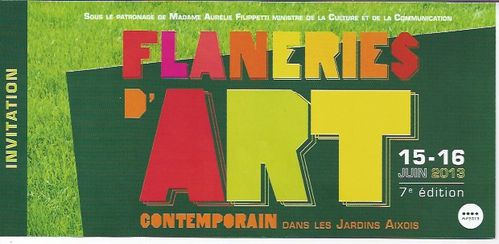 Flaneries 2013