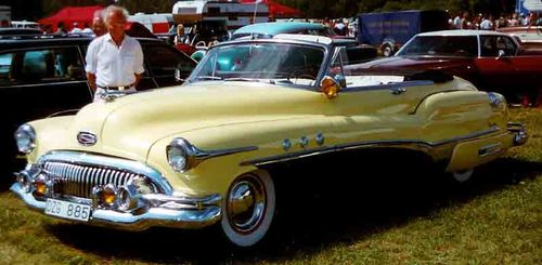 Buick Super Convertible 1951