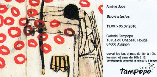 Amélie Joos Short stories