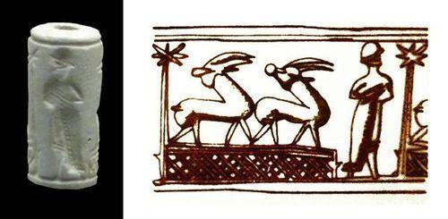 723g7 sceau cylindrique mycénien