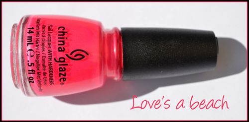 China Glaze Summer neon