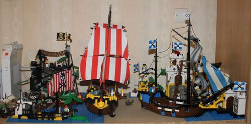 LEGO Pirate 6285 Black Seas Barracuda 22
