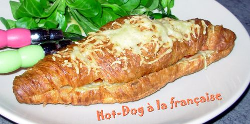 Hot-dog à la française2