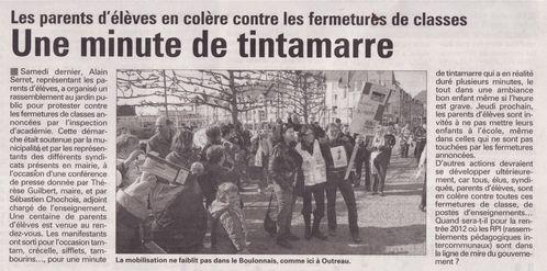 S du Boulonnais du 6 avril 2011