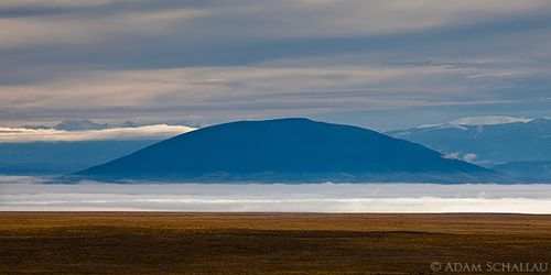 UTE MOUNTAIN IN FOG