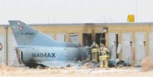 L'Avion Kfir Israel s'écrase