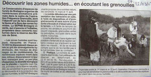 Ouest-France 12-03-03