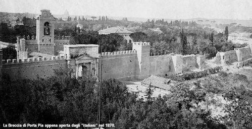 1870 breccia di Porta Pia