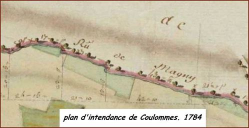 plan d'intendance Coulommes