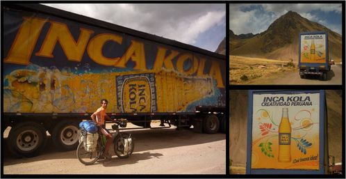 inca cola collage