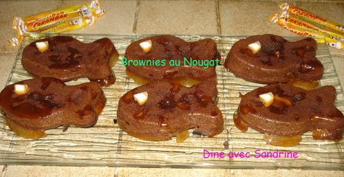 Brownies au nougat 7