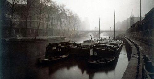 La Conciergerie et la Seine, hiver 1923