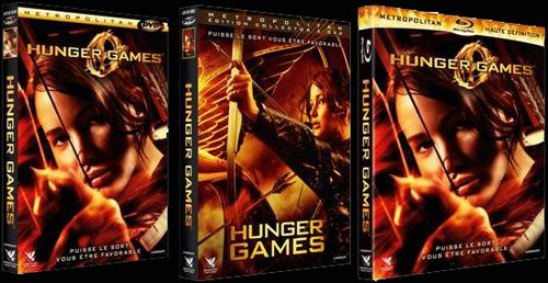 HUNGER GAME DVD, BLU-RAY