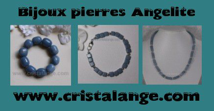bijoux pierres angelite