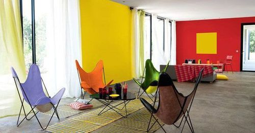 COLOR ZONING TABLEAU JAUNE