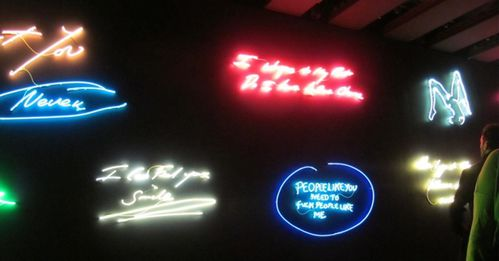 Londres Tracy Emin néon expo 7662