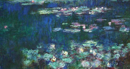 monet les nymphas