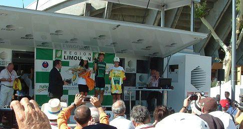 Tour du Limousin 2012 vainqueur Yukiya Arashiro (Jap)-(Team-Europcat)