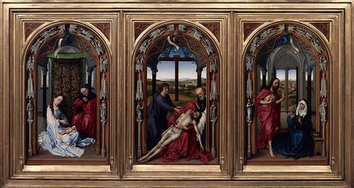 800px-Rogier van der Weyden - The Altar of Our Lady (Mirafl