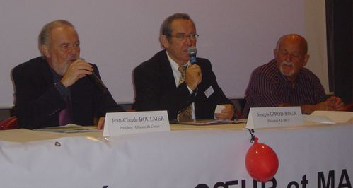 AG OCMCS Président Jean-Claude BOULMER Alliance du Coeur