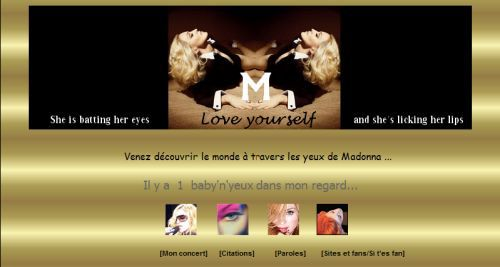 Welcome to New Member in Madonna Fans' World Community: Madonna's Eyes