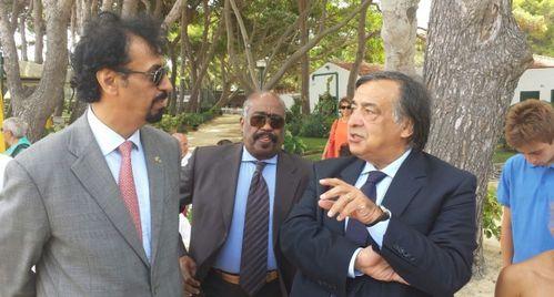 Disabili. Incontro a Palermo tra Orlando, l'ambasciatore del Kuwait e la delegazione kuwaitiana itinerante Viaggio della Speranza